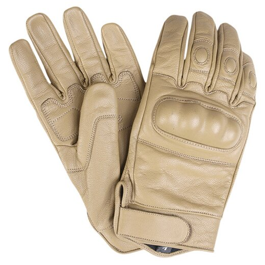 Tactical Gloves Leder Coyote XL